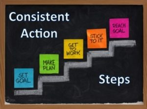 To do you have a goal? You need to make a plan! And you need to take some action!